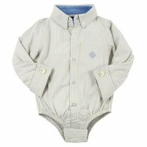 NWT, ANDY & EVAN baby boy shirtzie, 18-24 months